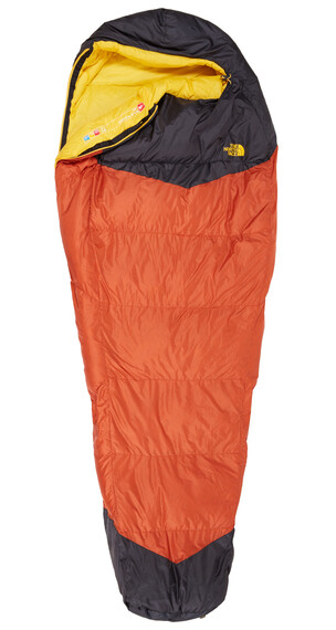 The North Face Gold Kazoo Śpiwór Regular pomarańczowy